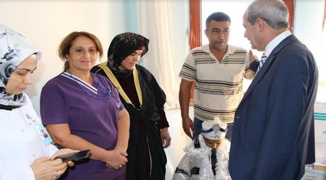 Sünnet Çocuklarına Demirkol'dan Ziyaret