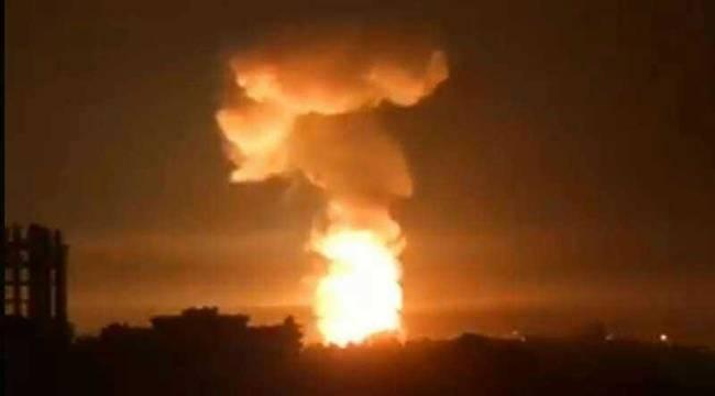 Suriye'ye Füze Saldırısı