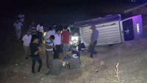 Suruç Çadır Kent Mevkisinde Kaza 7 Yaralı