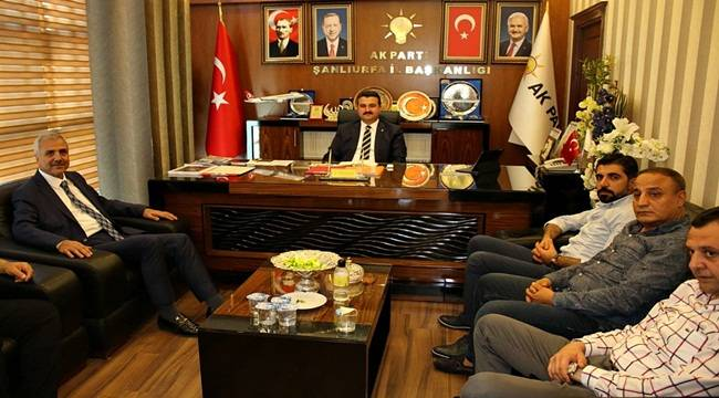 ŞUTSO'dan AK Parti İl Başkanına Ziyaret
