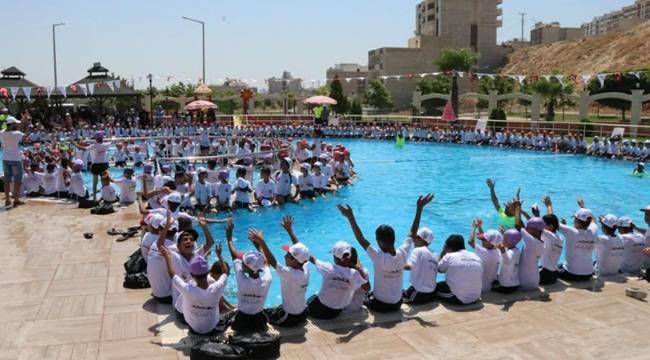Urfa'da 400 Bin Vatandaş Havuzları Kullandı