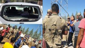 Urfa'da DEDAŞ Ekibine Saldırı 3 Yaralı