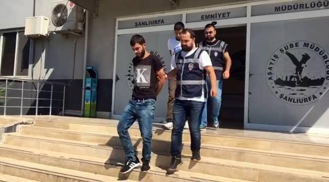 Urfa'da Kapkaç Yapan 2 Kişi Tutuklandı