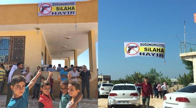 Urfa'da Silaha Hayır Kampanyası