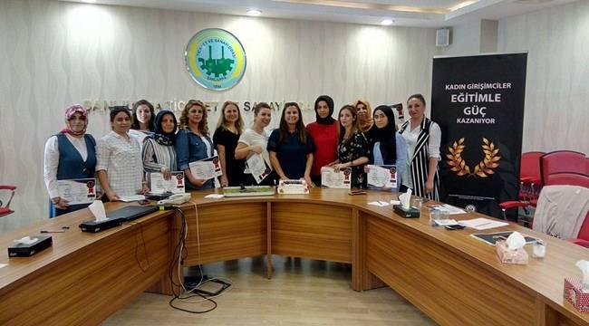 Urfalı Kadın Girişimcilerin Markalaşma Eğitimi Tamamlandı