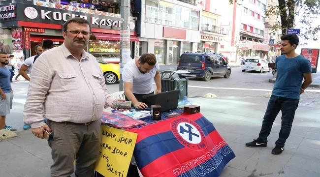 Urfaspor Maçı Öncesi Zonguldak Taraftarından Takımına Destek