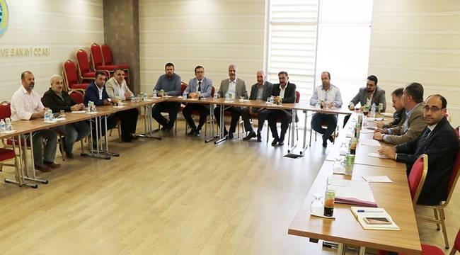 14. ve 15. Meslek Komiteleri Toplantısı Gerçekleşti