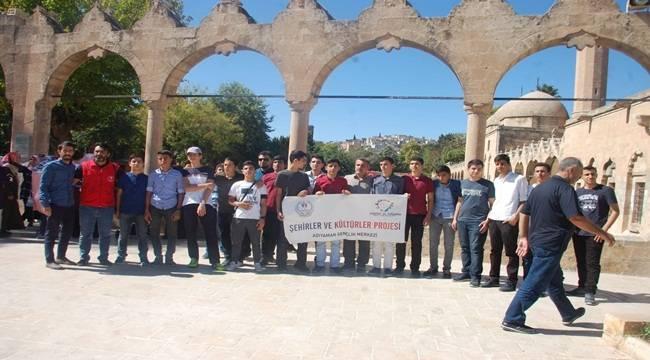 Adıyamanlı Başarılı Öğrenciler Urfa'yı Gezdi
