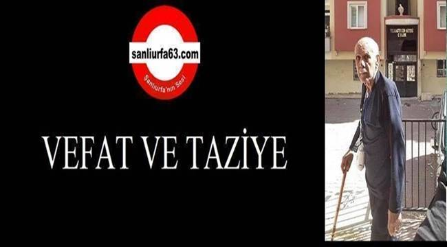 Ali Türkmen Vefat Etti