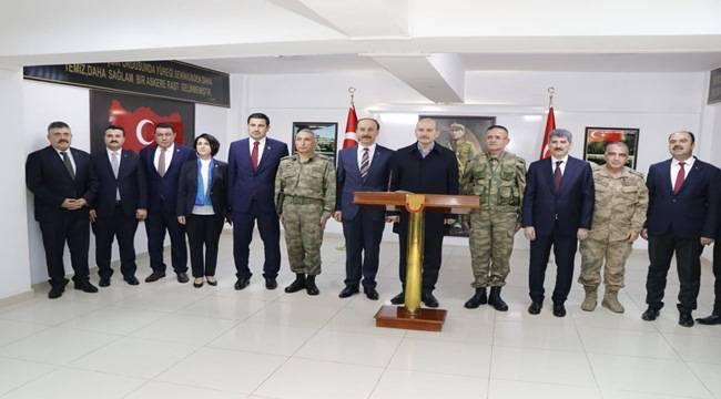 Bakan Süleyman Soylu Şanlıurfa'ya Geldi