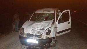 Bozova Yolunda Kaza 1 Kadın Hayatını Kaybetti