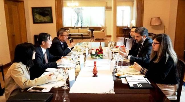 Büyükelçi Önen'den Çin Büyükelçiler Onuruna Yemek