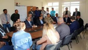Çelikkaya Yuvacık'ta Toplantı Yaptı