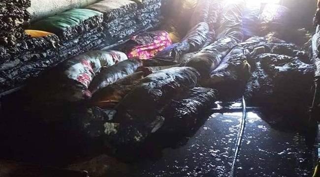 Ceylanpınar'daki Yangın İle İlgili Gözaltılar Var