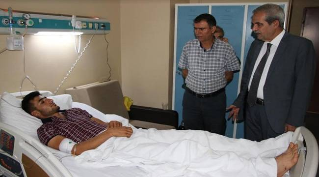 Demirkol'dan Hastalara Moral Ziyareti