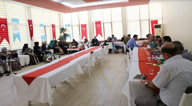 Haliliye'de 2018 Yılı Ekim Ayı Halk Günü Toplantısı