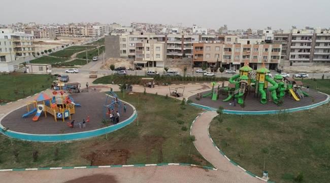 Haliliye'de Çocuk Parkları Yenileniyor