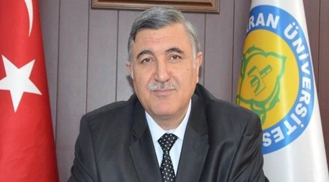 Harran Üniversitesi Rektörü İstifa Etti