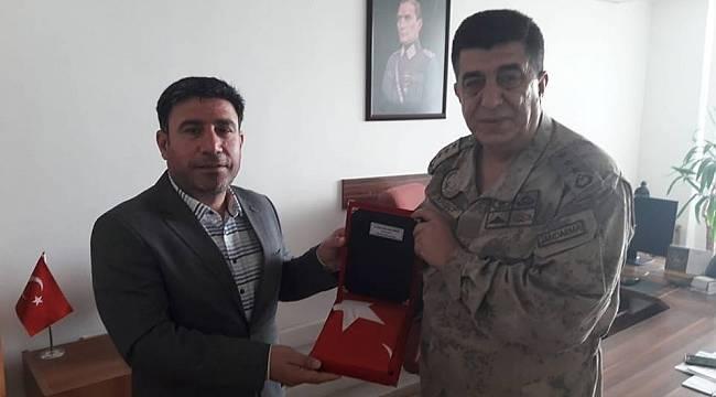 Karadaş'tan Komutan Kirişçi'ye Ziyaret