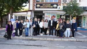 Mersin AİLEMDER'den Hilvan'a Ziyaret