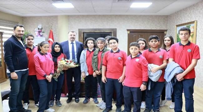 Öğrenciler Şanlıurfa Adliyesini Ziyaret Etti