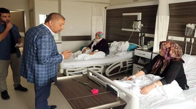 Pınarbaşı'ndan Hastalara Ziyaret