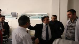 Sağlık Müdürü Eyyübiye Devlet Hastanesini İnceledi