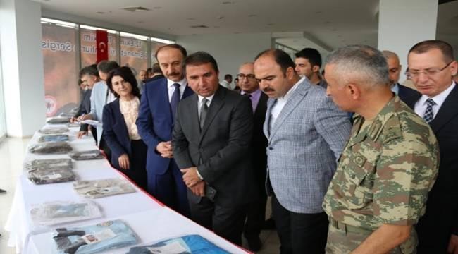 Şanlı Şehrin Şehit Emanetleri Sergisi Açıldı