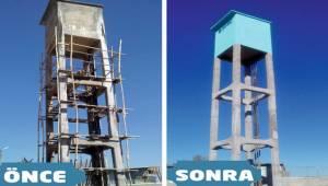 Şanlıurfa'da Eskiyen Su Depoları Yenileniyor