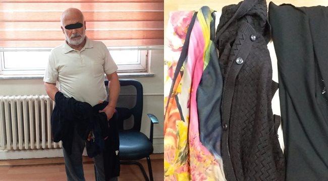 Şanlıurfa'da kadın kılığına girerek saklanan tacizci yakalandı