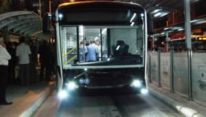 Şanlıurfa'da trambüs test sürüşüne başlandı