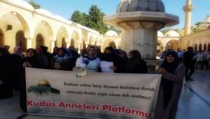 Şanlıurfalı Kudüs Anneleri 41. Kez Eylem Yaptı