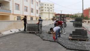 Seyrantepe'de Yol Çalışmaları Devam Ediyor