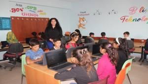 Siverek'te Köy Okulunda Bilişim Sınıfı Kuruldu