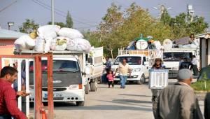 Suriyeliler Çeşitli İllere Gönderiliyor