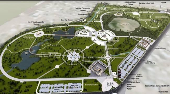Türkiye'nin En Büyük İnanç Merkezi Urfa'da Oluşturuluyor