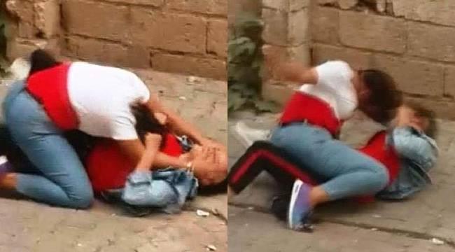 Urfa'da Liseli Kızların Aşk Kavgası