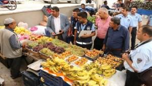Urfa'da Pazar Etiketleri İncelendi
