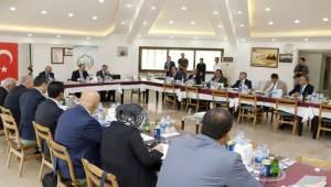 Urfa Milli Eğitim İlçe Müdürleri Bozova'da Toplandı