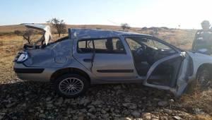 Urfa Otobanında Kaza 4 Yaralı