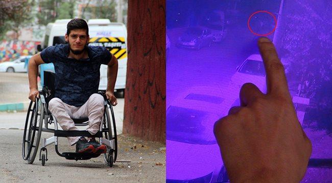 Vicdansız hırsızlar, engelli gencin motosikletini çaldı