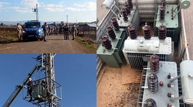 10 Günde 10 Kaçak Elektrik Trafosu Ele Geçirildi