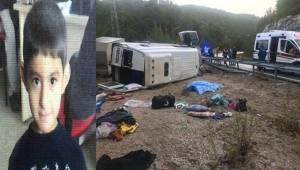 14 Kişilik Minibüsten 26 Yaralı 1 Ölü Çıktı