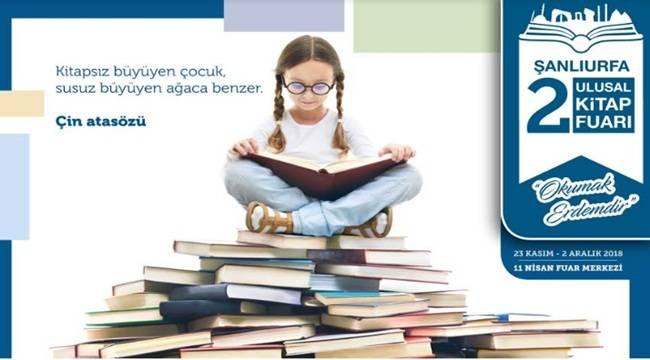 2.Ulusal Şanlıurfa Kitap Fuarı Başlıyor