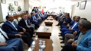 AK Başkan Yıldız'dan Ziraat Odasına Ziyaret