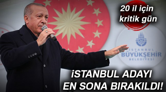 AK Parti'de 20 İl İçin Kritik Gün
