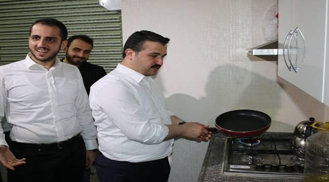 AK Parti Şanlıurfa İl Başkanı Menemen Yaptı