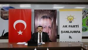 AK Parti Şanlıurfa'da Temayül Tarihi Belli Oldu