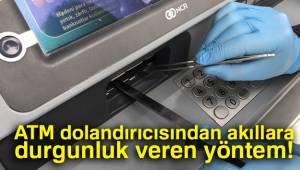 ATM Dolandırıcısından Akıllara Durgunluk Veren Yöntem