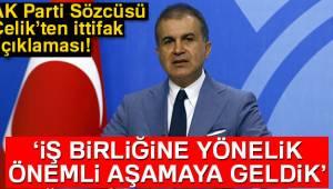 Çelik'ten Cumhurbaşkanı Erdoğan-Bahçeli Görüşmesine İlişkin Açıklama